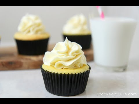 Low Carb Vanilla Cupcakes (Gluten Free) episode 402