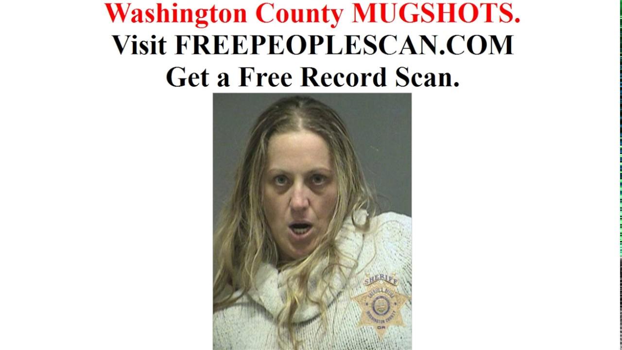 Washington County Mugshots - YouTube