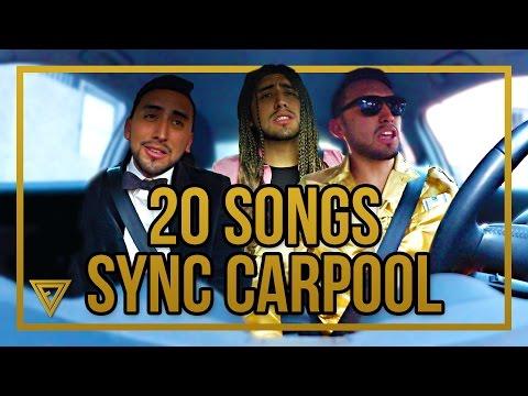 20 Songs Tag 🎧 🚗 Carpool Karaoke 🎤 💋 Lip Sync Battle