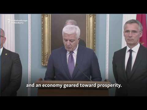 Montenegro Joins NATO In Washington Ceremony
