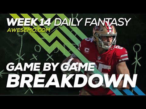 NFL DFS Strategy - Week 14 Top Targets - 2019 Fantasy Football