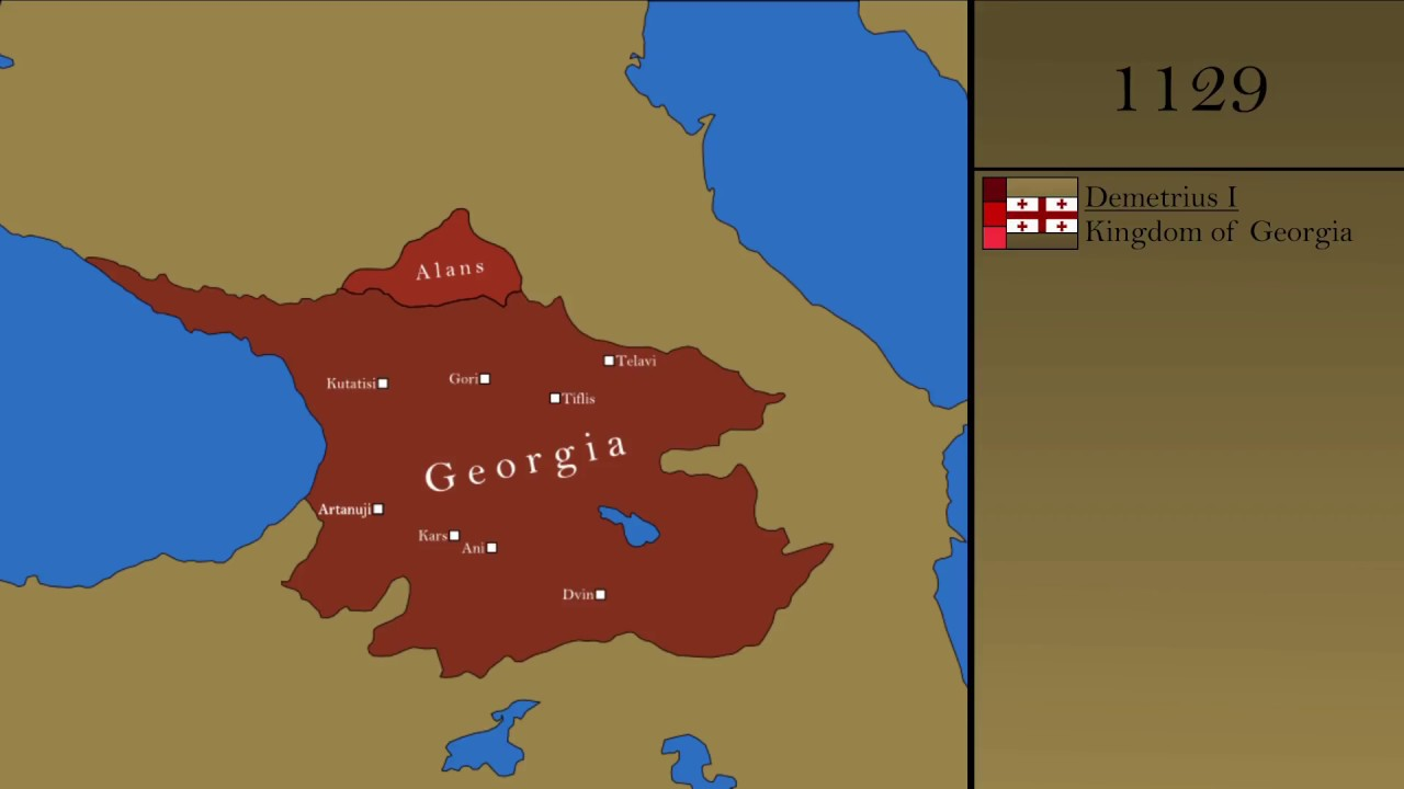 Georgia Map Of World.The History Of Georgia