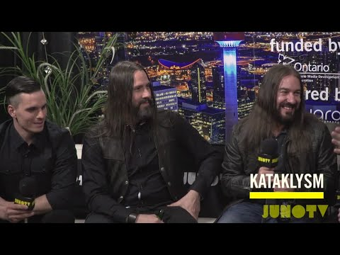 Backstage with Kataklysm at The 2016 JUNO Awards
