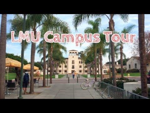 Loyola Marymount University (LMU) Campus Tour!