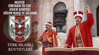 Mehter Dünyanın En Eski Askeri Bandosu  Hücum Marşı ve Gülbang