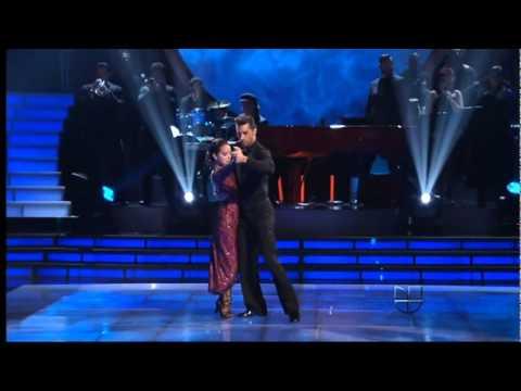 Adamari López Baila  Tango En Mira  Quien Baila