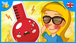 Difference Between Heat and Temperature | Kids Videos