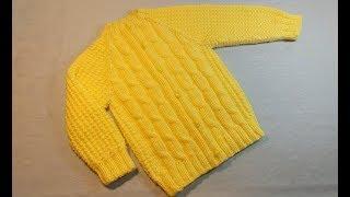 Вязание спицами детская кофточка #221