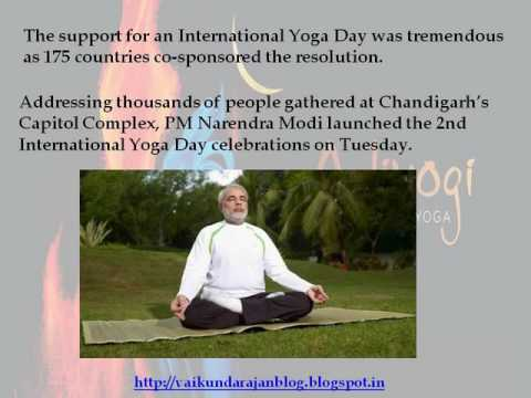 Thumbnail for Vaikundarajan Celebrates International Yoga Day