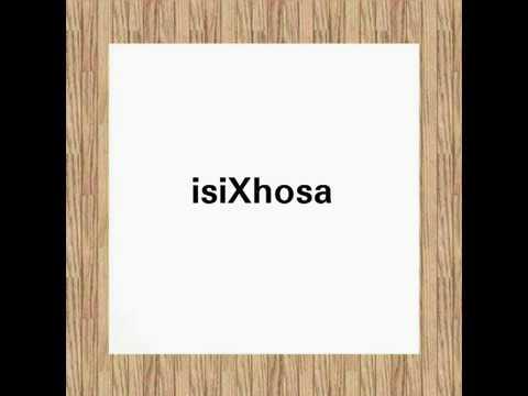 Pronunciation of isiXhosa