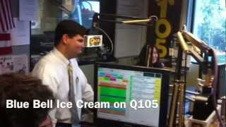 Blue Bell on the Radio for National Ice Cream Month 2012
