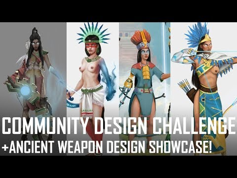 Critique Hour! Community Design Challenge-Ancient Weapon Design Showcase!