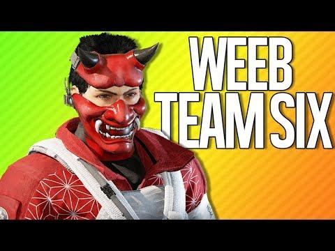 WEEB TEAM SIX | Rainbow Six Siege