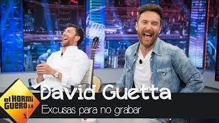 Descubre la mejor excusa de David Guetta para no grabar con alguien - El Hormiguero 3.0