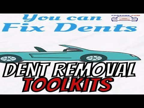 🚘repair car dents paintless dent removal tool best dent removal kit 🛠️