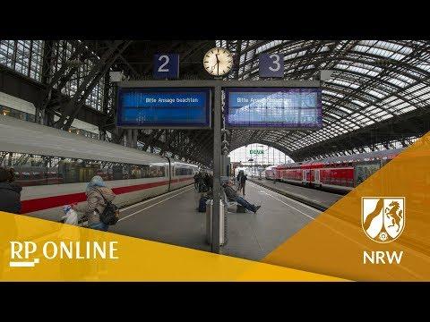 Orkan Friederike: Bahn stellt Zugverkehr in NRW wegen Sturm ein