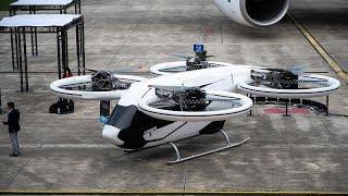 """Airbus представил """"летающее такси"""" - euronews"""