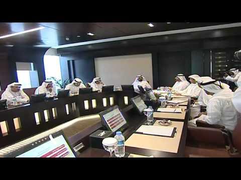 محمد بن راشد يترأس اجتماعاً في المجلس التنفيذي