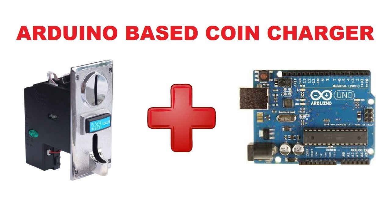 Coin charger using arduino | arduino project
