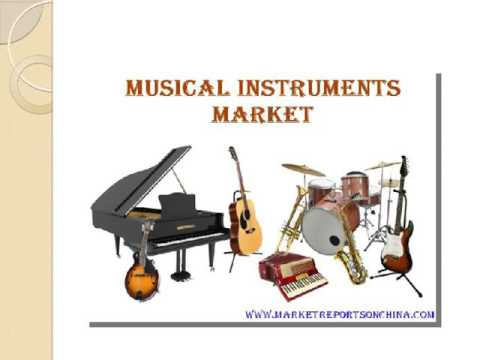 Musical Instruments Market Trends In China