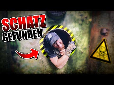 SCHATZ im verlassenen BUNKER der Russen gefunden - Geocaching | Fritz Meinecke