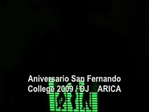ANIVERSARIO   SAN FERNANDO COLLEGE 2009  DJ ARICA   POLERA   INTRO
