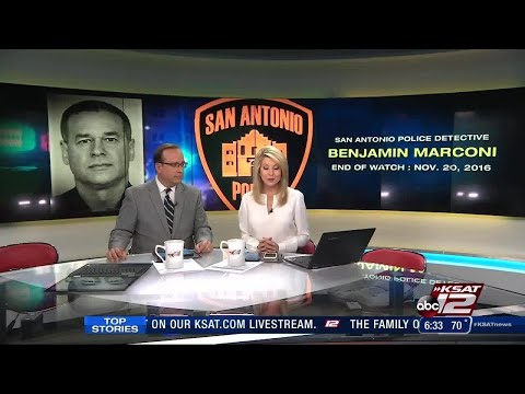 Family, friends prepare to say final goodbye to fallen SAPD detective