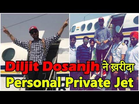Diljit Dosanjh now owns a private jet! Dainik Savera