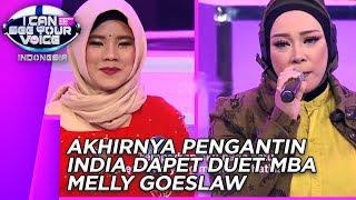 Gambar cover Melly Goeslaw Akhirnya Duet Bareng PENGANTIN INDIA Yang Mirip Nissa Sabyan - Best of ICSYV