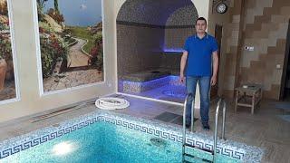 оборудование для бассейна в частном доме со строительством 7 (926) 224-71-44