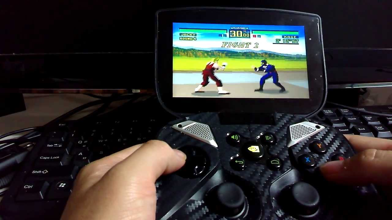 RetroArch SEGA 32X NVIDIA Shield Virtua Fighter (엔비디아쉴드 버철파이터1 에뮬) 플스폰