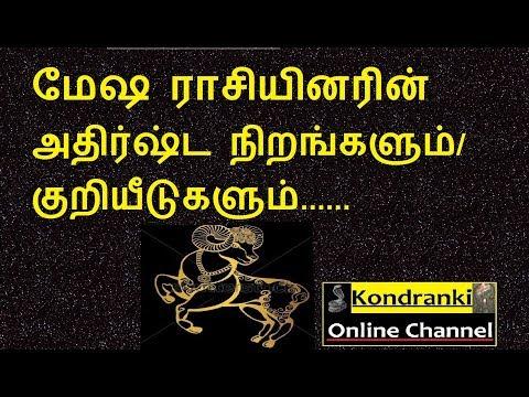 மேஷ ராசியினரின்  அதிர்ஷ்ட நிறங்களும் /குறியீடுகளும்/Aries lucky colors & Symbols.