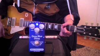 Mad Professor Deep Blue Delay demo by Marko Karhu