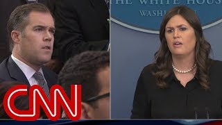 WH briefing gets heated over school shooting question thumbnail