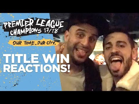 CHAMPIONS SOCIAL MEDIA REACTION! | Player Celebrations