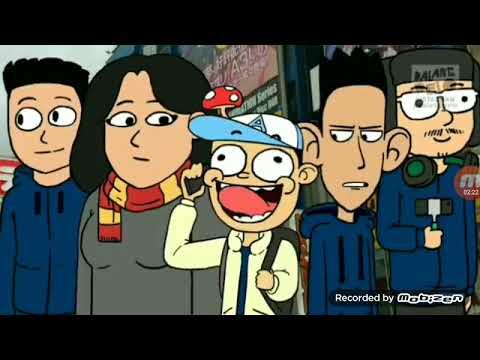 *Dalang Pelo* Acil Pinjam Baling Baling Bambu Doraemon