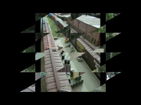 N scale Model Train Layout 2