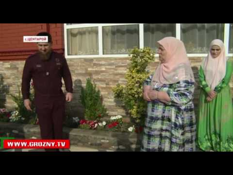 Рамзан Кадыров посетил близких в Ид аль-Фитр