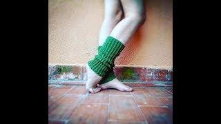 Very Basic Legwarmers Easy Crochet For Beginners | The Green Marble Crochet Tutorials
