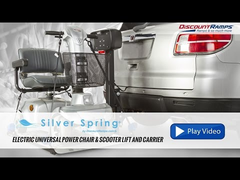 Silver Spring Electric Power Chair Lift and Carrier - DR300