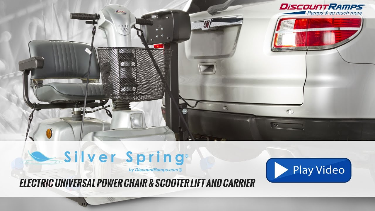 Silver Spring Electric Power Chair Lift and Carrier DR300