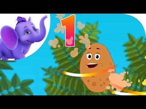 One Potato - Nursery Rhyme with Karaoke