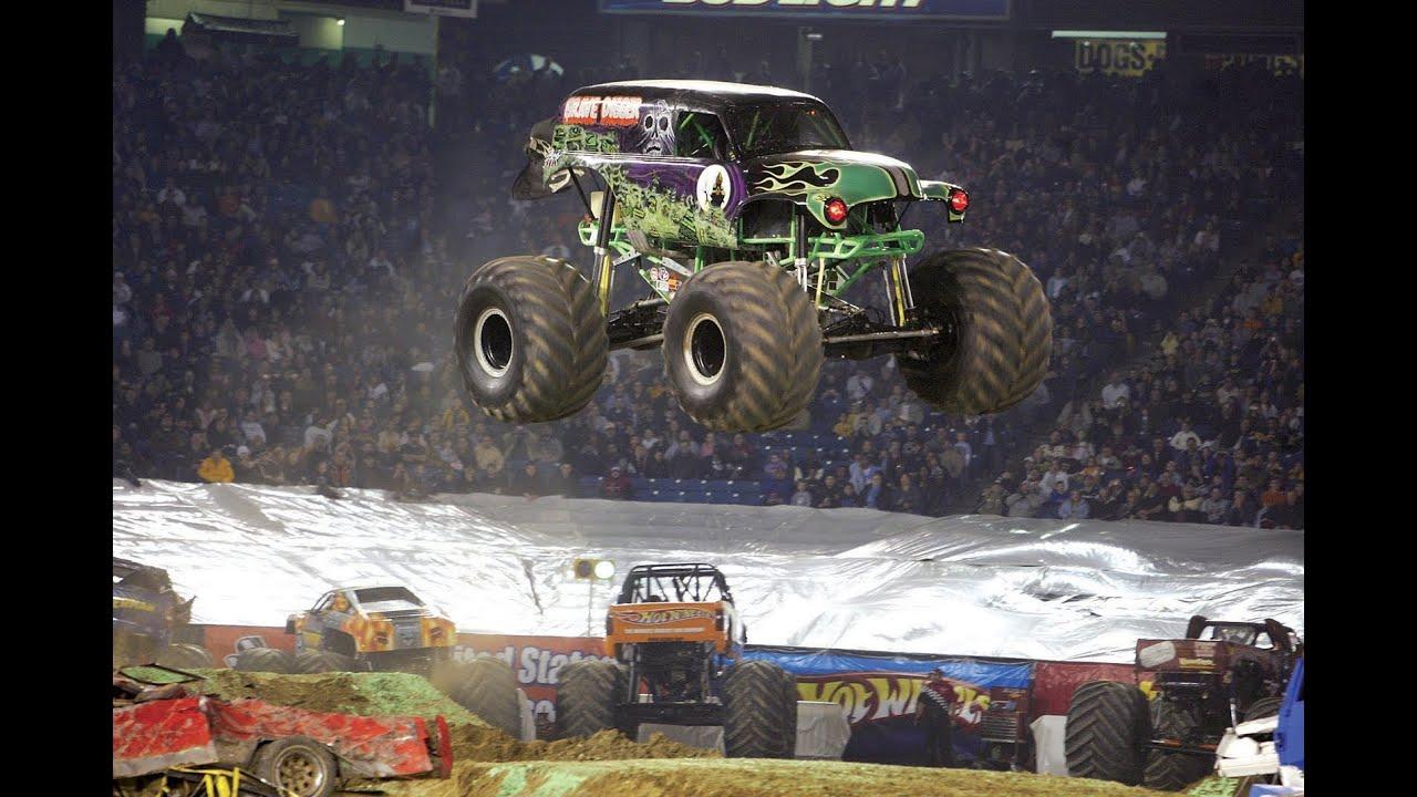 Car Smashing Monster Trucks Youtube