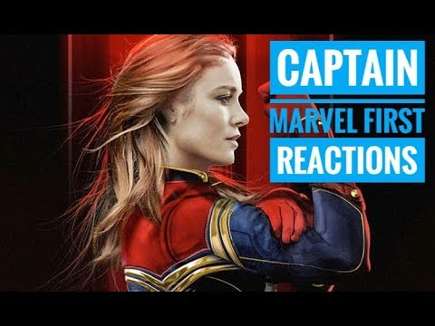 Captain Marvel Movie First Reactions By Viewers - 동영상
