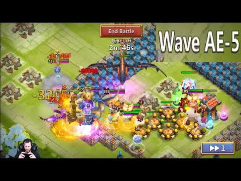 JT's Free 2 Play HBM AE First Try Make It LOOK EASY Castle Clash