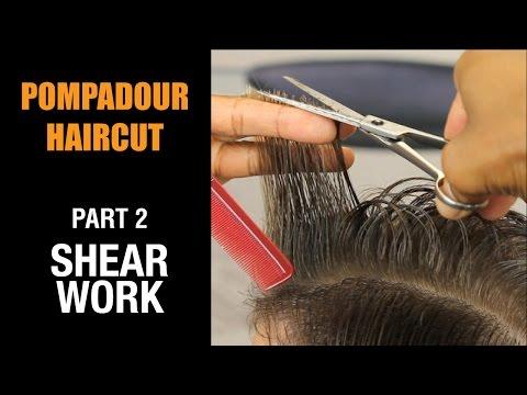 Men's Pompadour Haircut - Shear Work-P2