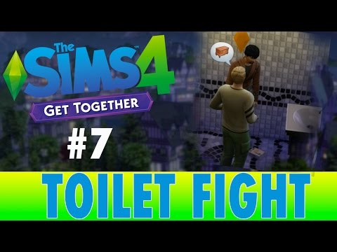 Sims 4 Get Together | #7 Toilet Fight | Let's Play |