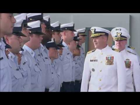 United States Coast Guard Change of Command Ceremony