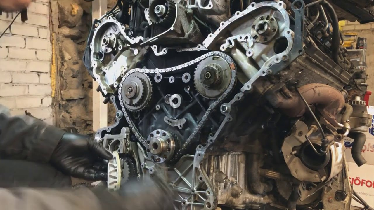 Audi A8 Q7 4.2 TDI timing chain replacement
