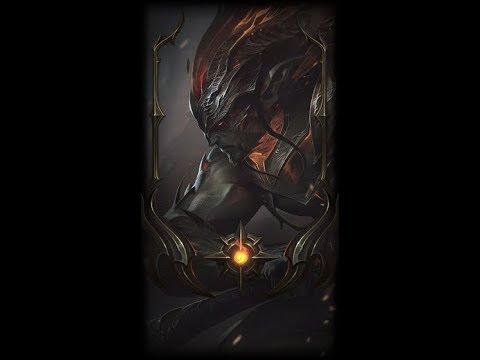 Nightbringer Yasuo Border League Of Legends Youtube